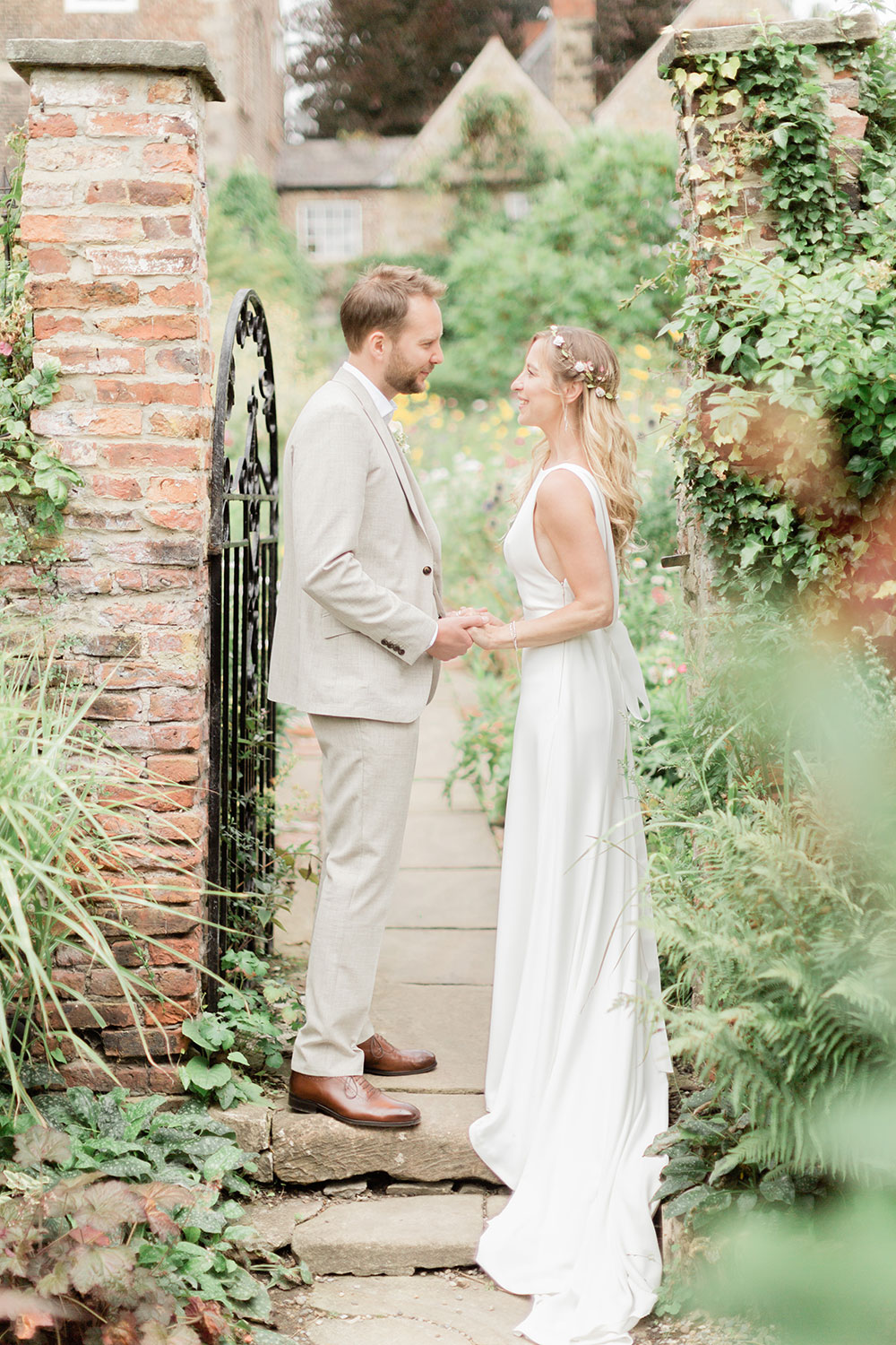 crook hall natural wedding photographer