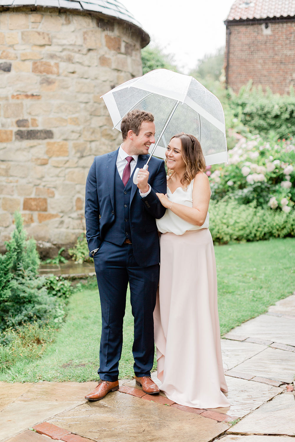 crook hall summer wedding