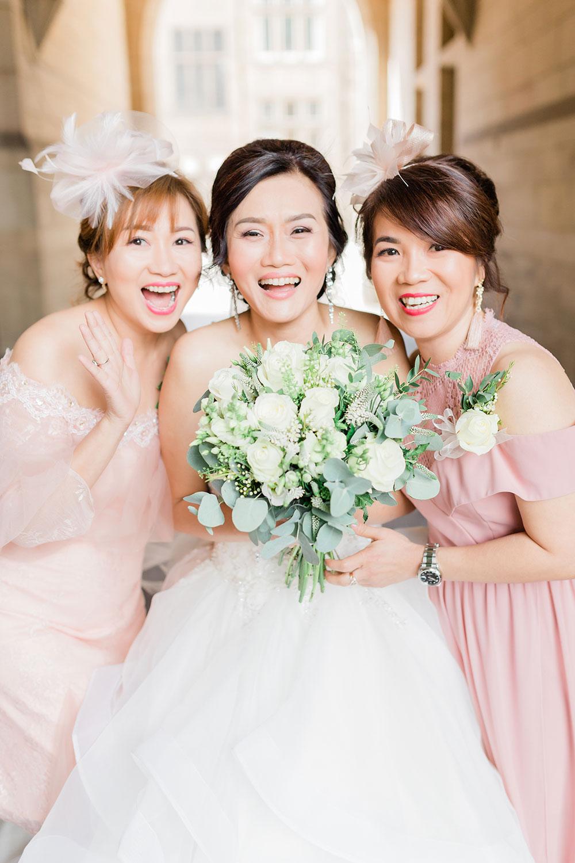 bridemaids crathorne hall