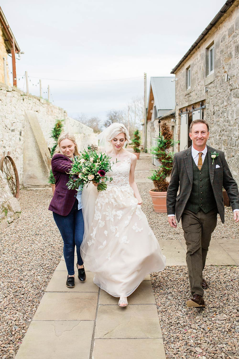 doxford barns natural wedding photography carn patrick
