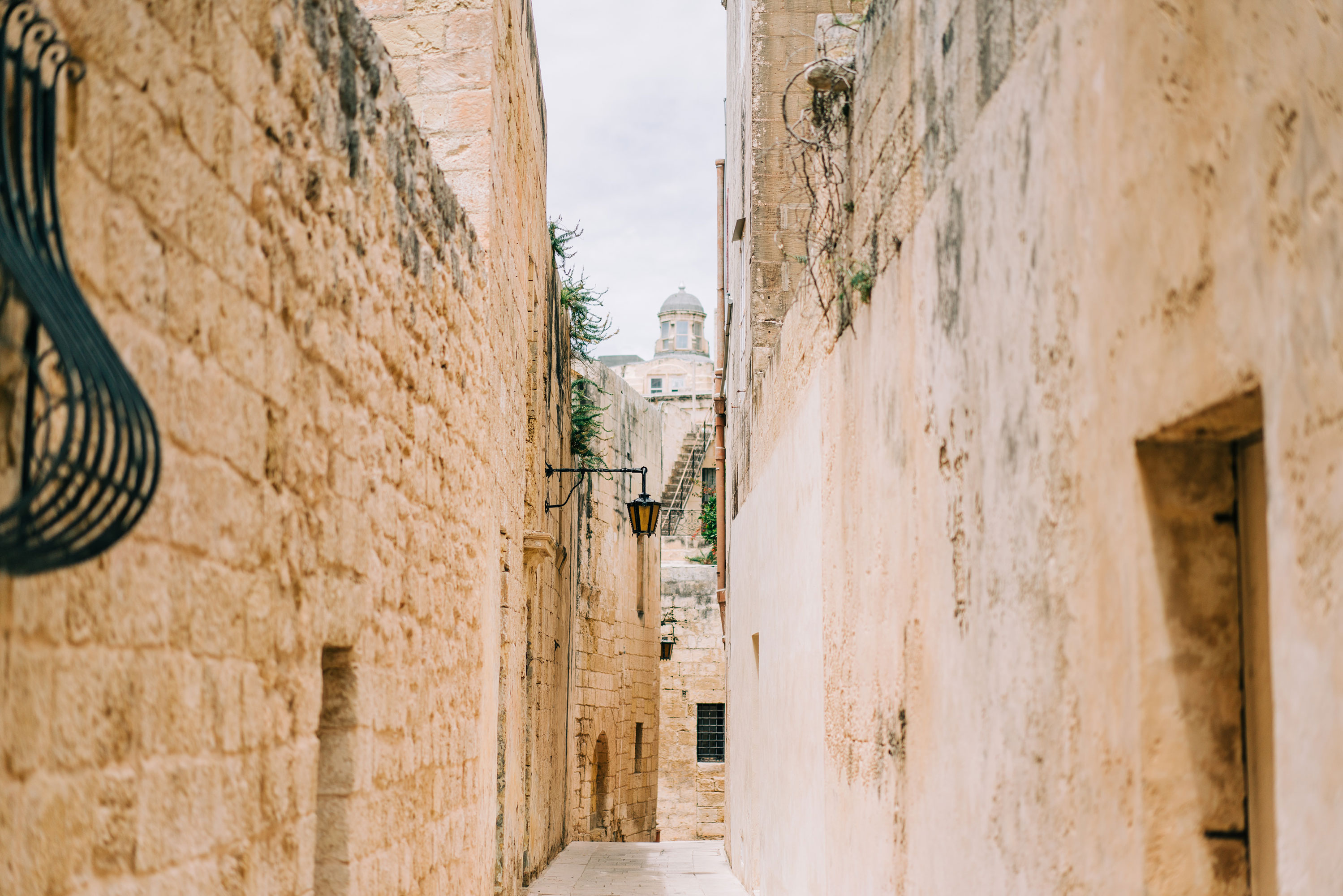 streets and alleyways mdina malta